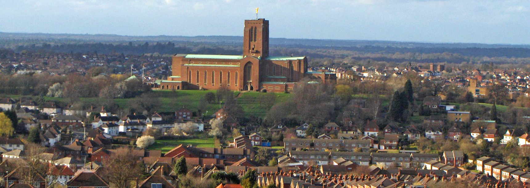Guildford town and cathedral